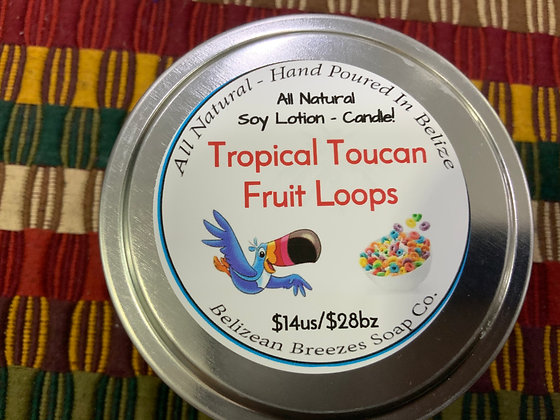 Lotion Candle! Fruit Loops