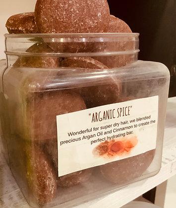 Arganic Spice Shampoo Bar REG Hair Volume