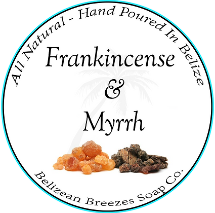Frankincense & Myrrh BODY SOAP BAR