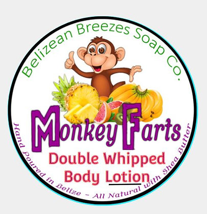 Monkey Farts -BODY LOTION Double Whipped