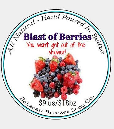 Blast of Berries! BODY SOAP BAR