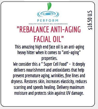 """""""REBALANCE""""  ANTI-AGING FACIAL OIL"""