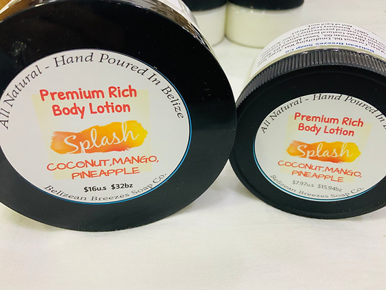 Premium Whipped Body Lotion SPLASH
