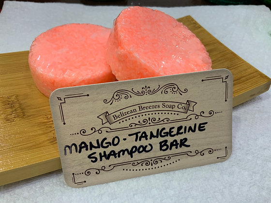Mango Tango Shampoo Bar for DRY HAIR
