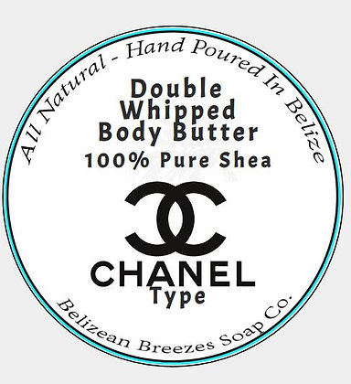 Double Whipped Body Butter Chanel # 5 ( type)
