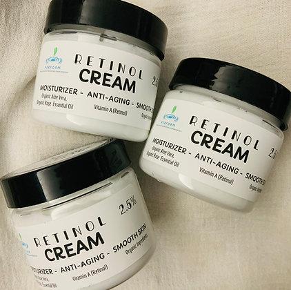 RETINOL Cream 2.5%  Face