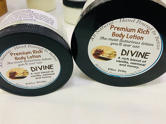 Premium Whipped Body Lotion DIVINE