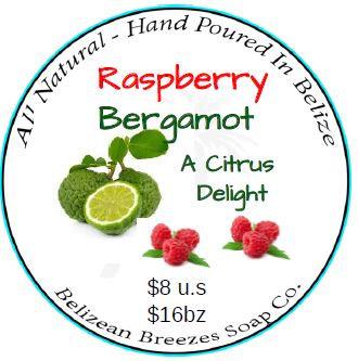 Raspberry-Bergamot Bar