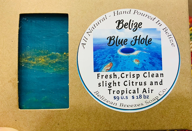Belize Blue Hole Soap