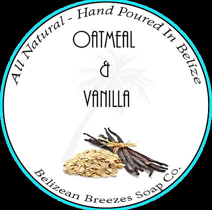 Oatmeal & Vanilla  BODY SOAP BAR