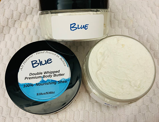 """""""BLUE"""" The ocean captured in a body butter"""