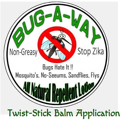 Bug-Away, Twist -up Stick -Bugs HATE it!