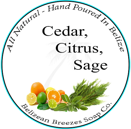 Cedar Citrus & Sage BODY SOAP BAR