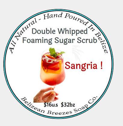 SANGRIA! Whipped Foaming Sugar Scrub