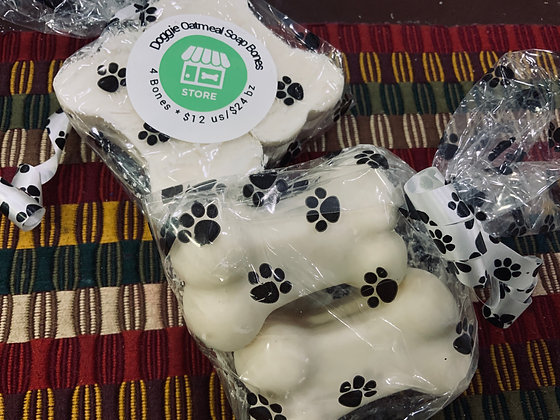 Soothing Pooch Soap-LARGE PAW BAR