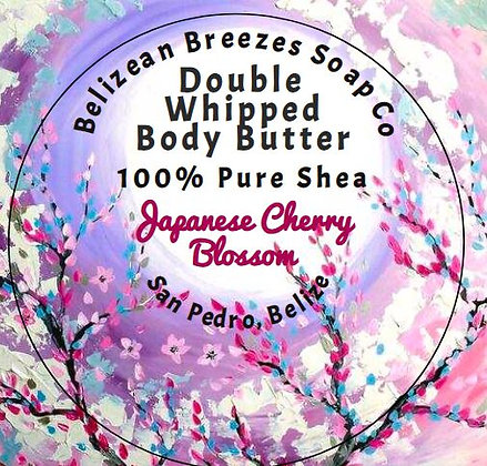 Double Whipped Body Butter Japanese Cherry Blossom !!