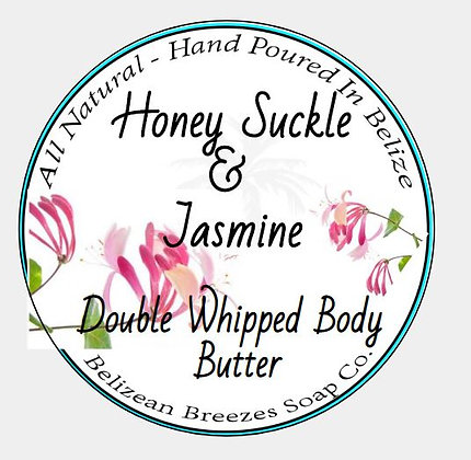 Double Whipped Body Butter Honey Suckle & Jasmine