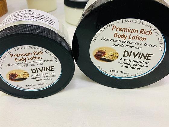 Premium Whipped Body Lotion DIVINE ,MEDIUM