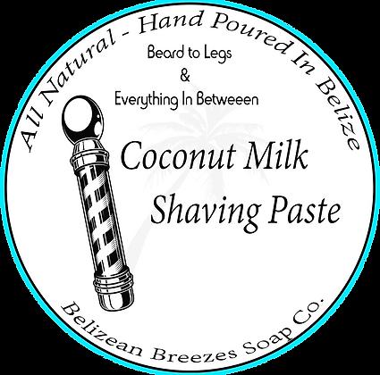 Coconut Milk & Shea Shaving Paste ( men & Women)