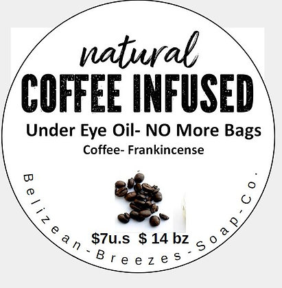 Caffeine Eye Oil, No More Bags!
