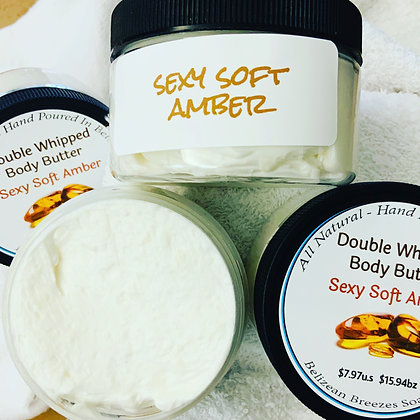 Sexy Soft Amber Body Butter