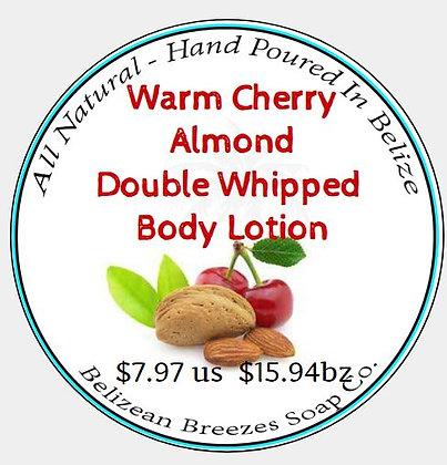 Cherry Almond Double Whipped Body Lotion