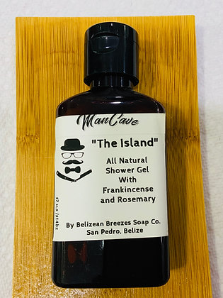 The Island all natural shower gel