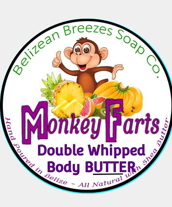 LARGE Monkey Farts Double Whipped Body Butter