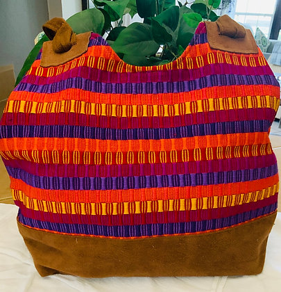 Belizean Weaved Hand Bag/ Tote
