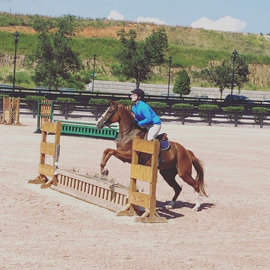 We had a great day of schooling at Tryon