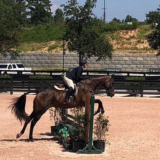 We had a great day at Tryon! Keowin & Je