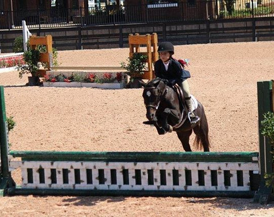Sydnie May of been doing short stirrup,