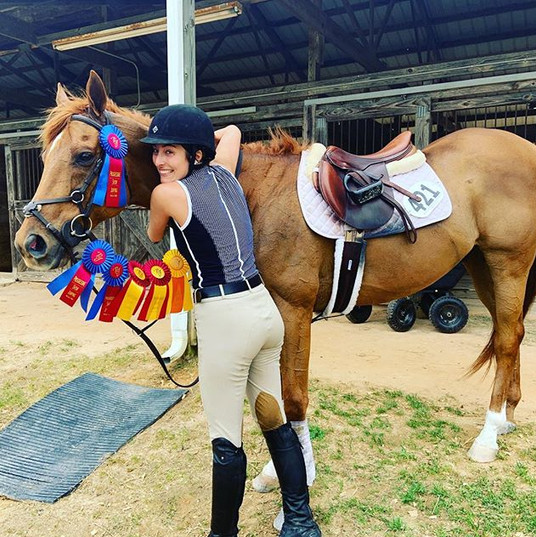 Adult 1.0m jumpers and came away with so