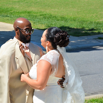 Mr. & Mrs Perry Wedding Day