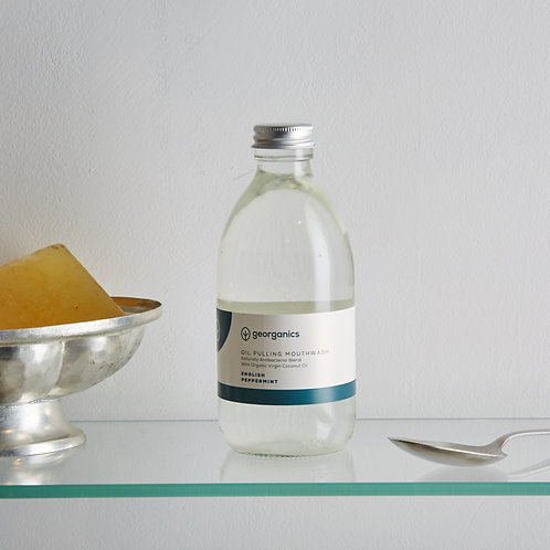 Oil Pulling Elixir Bucal - Menta Inglesa