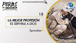 18 La Mejor Profesion Es Servirle A Dios