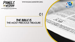01 The Bible is the Most Precious Treasu