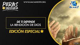 27 De Ti Depende La Bendición de Dios.j