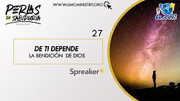 27 De Ti Depende La Bendicion De Dios.pn