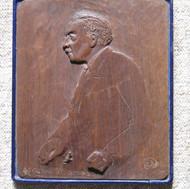 "Portrait of the furniture maker Robert ""Mouseman"" Thomson"