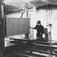 Ann Banks in her studio