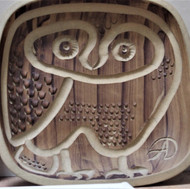 Owl Plate 1966