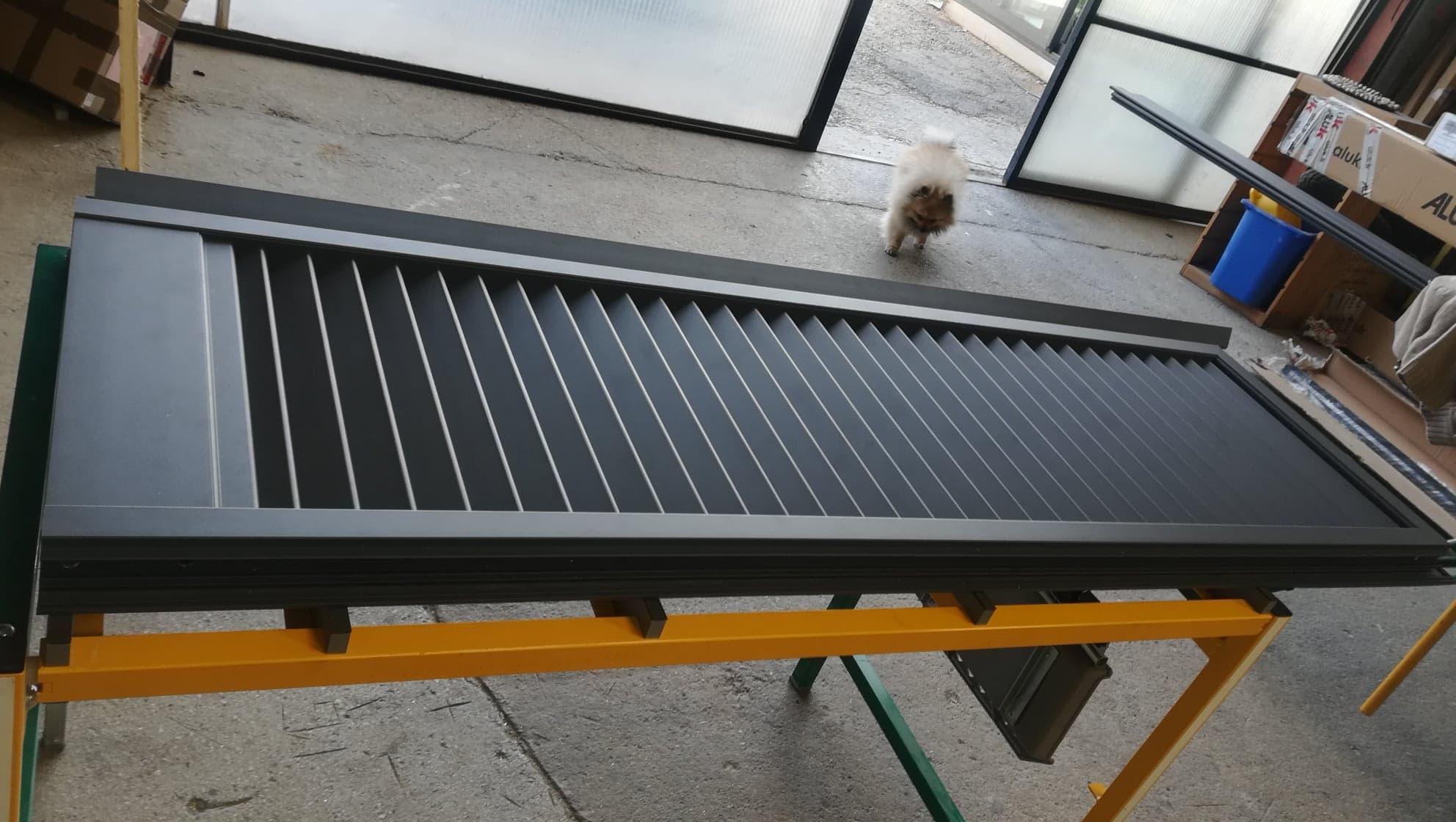 volets battants aluminium fabrication ASBF St Maximin