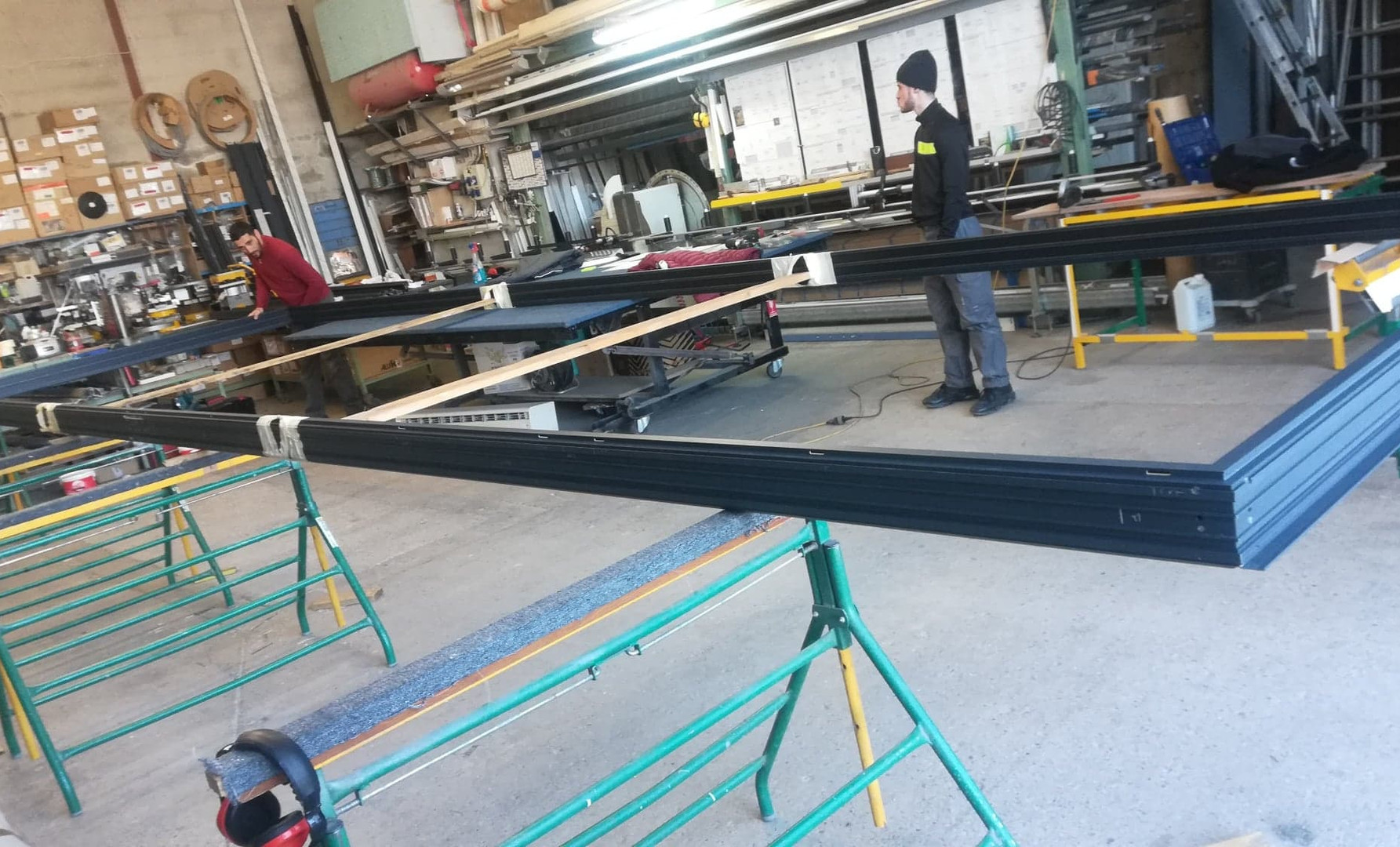fabrication chassis 6 vantaux