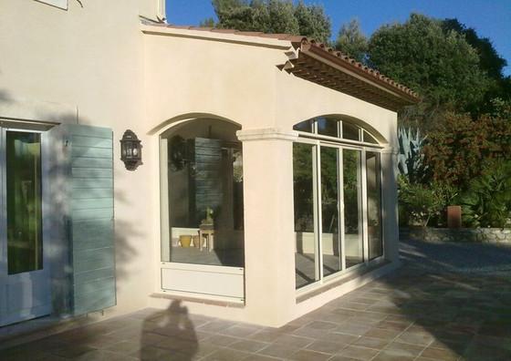 veranda, st Maximin 83470, pourrieres 83910, trets