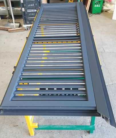 fabrication Volet battant Alu 83470