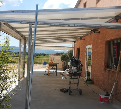 structure de terrasse restaurant