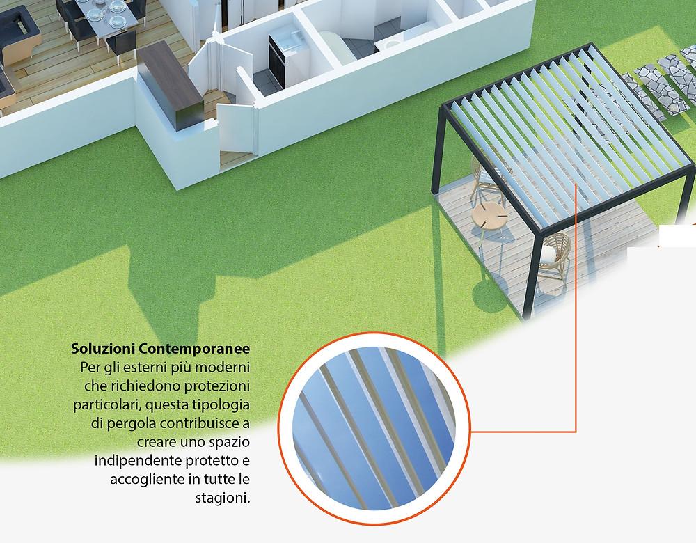 Pergola Bioclimatica Applitenda