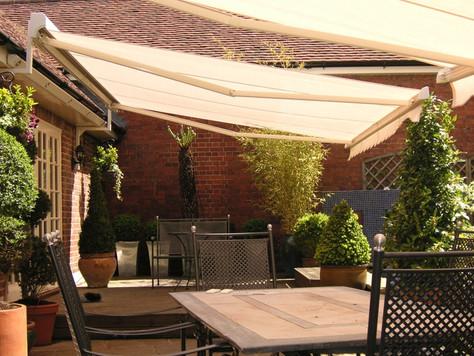 Le Tende da Sole per il patio
