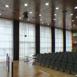 Tendaggi per Auditorium chiusi